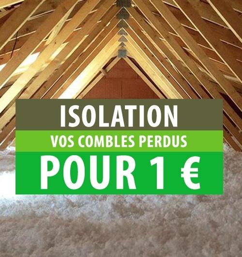 Isolation combles perdus 1€