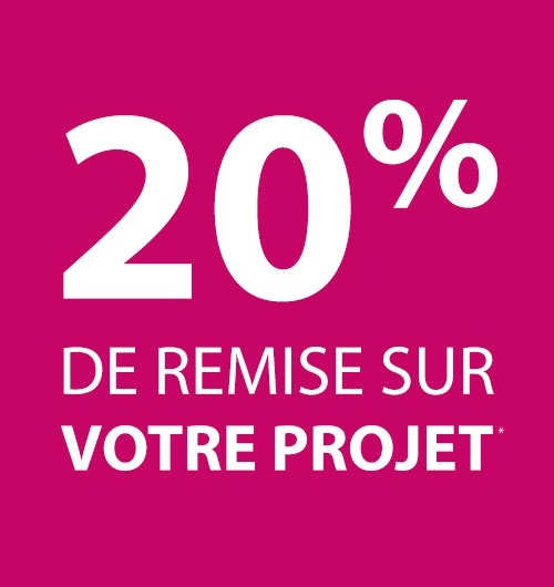 20% de remise sur votre projet rénovation