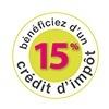 Crédit d'impôt 15%