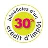 Crédit d'impôt à 30%
