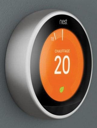 Thermostat Nest : le thermostat intelligent
