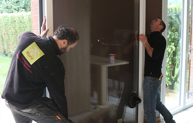 Remplacer porte fenêtre baie vitrée