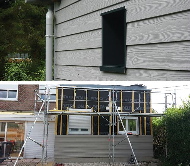isolation maison neuve par l'extérieur