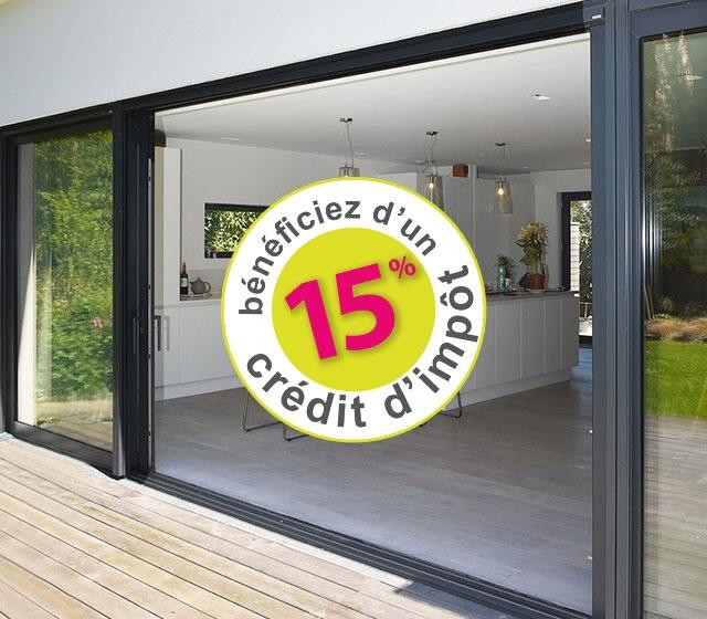 Profitez du CITE sur vos fenêtres et portes d'entrée, un crédit d'impôt transition énergétique