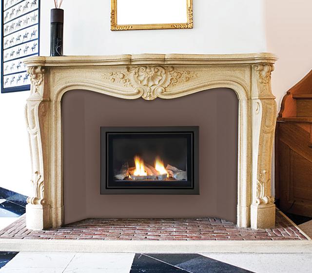 L'insert gaz permet de rendre sa vie  à votre cheminée