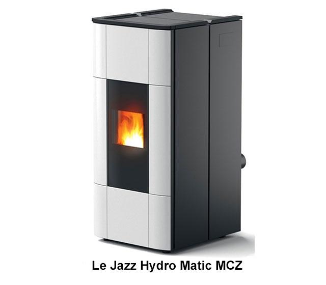 Le jazz Hydro Matic MCZ, un poêle à pellets hydraulique