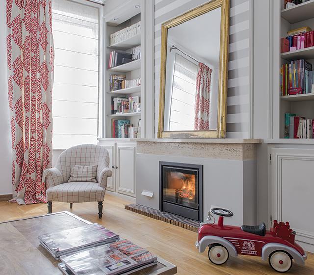 Améliorer le rendement d'un foyer ouvert
