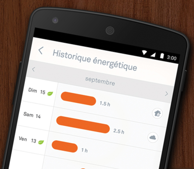 Une application pour suivre sa consommation d'énergie