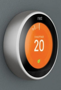 Thermostat Nest : le thermostat intelligent