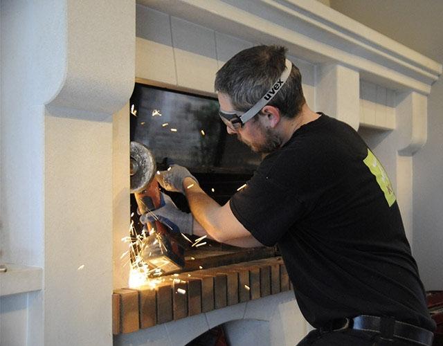 Installation poêle et cheminée