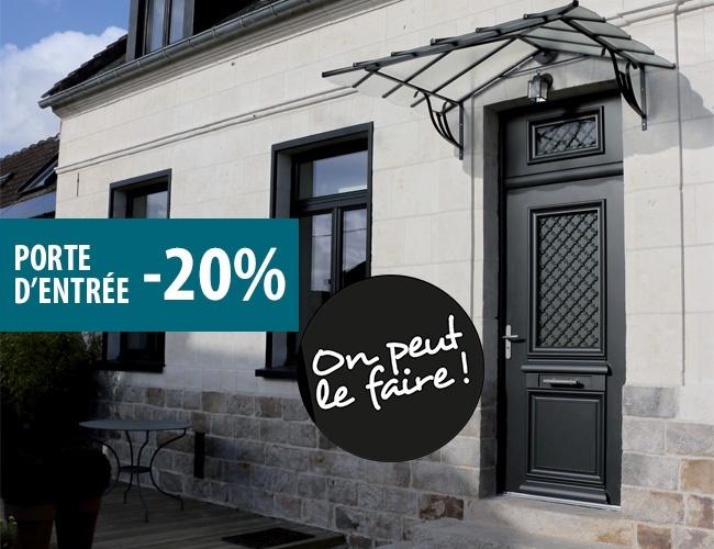 -20% sur votre porte d'entrée