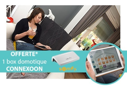 Box domotique Connexoon Somfy offerte