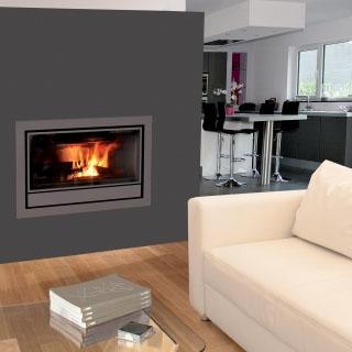 Insert bois Nordic ventilation intégrée 7kW