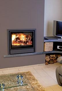 Insert bois Nordic  ventilation intégrée 10kW