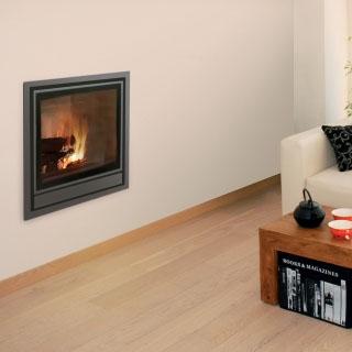 Insert bois Nordic ventilation intégrée 12kW