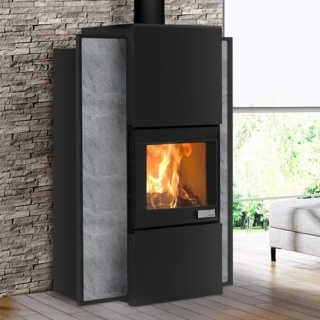 po le bois foghet evo aria hydro bois pellets 9 5kw. Black Bedroom Furniture Sets. Home Design Ideas