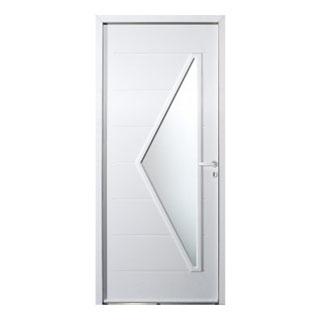 Porte d'entrée acier Delta