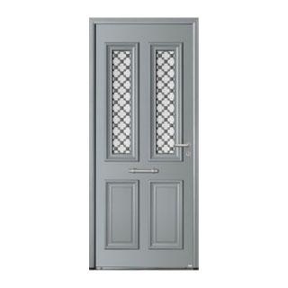 Porte d'entrée aluminium Astéria