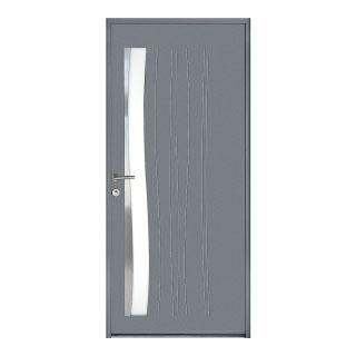 Porte d'entrée aluminium  Bardane