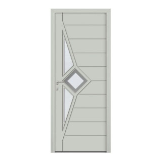 Porte d'entrée aluminium Cassiopee 3