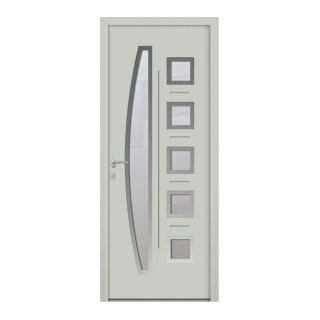 Porte d'entrée aluminium Corail 6