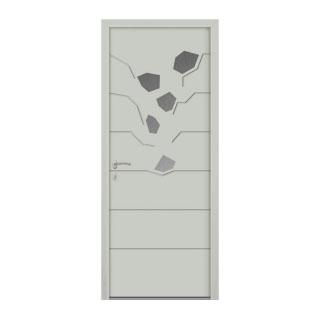 Porte d'entrée aluminium Digitale