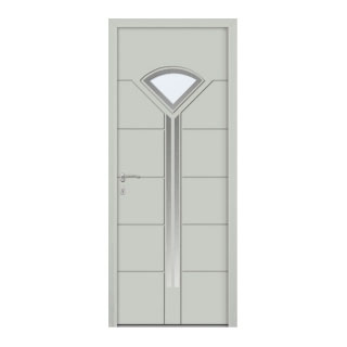 Porte d'entrée aluminium Dragon 1