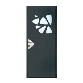 Porte d'entrée aluminium  Elfe