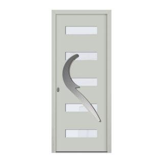 Porte d'entrée aluminium Eros 5