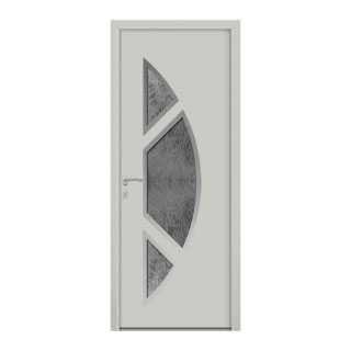 Porte d'entrée aluminium Goya 3