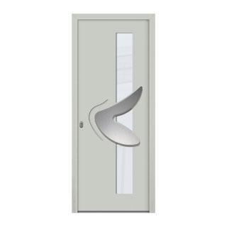 Porte d'entrée aluminium Ida 1