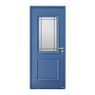 Porte d'entrée aluminium Isaac