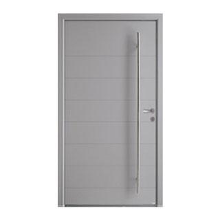 Porte d'entrée aluminium Phosphore