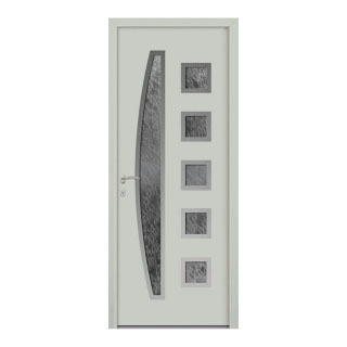 Porte d'entrée aluminium Trinidad 6