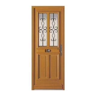 Porte d'entrée bois Novel