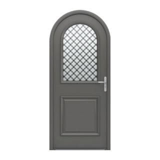 Porte d'entrée alu/ bois Artémis