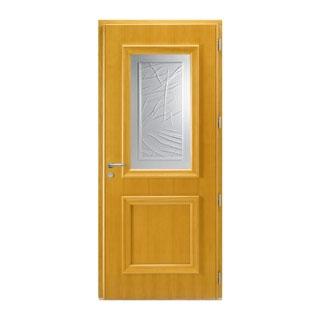 Porte d'entrée mixte alu-bois Métis