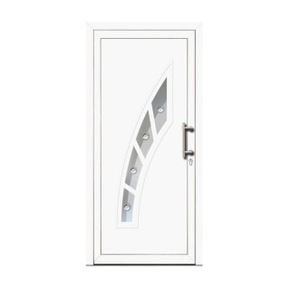 Porte d'entrée PVC Phi