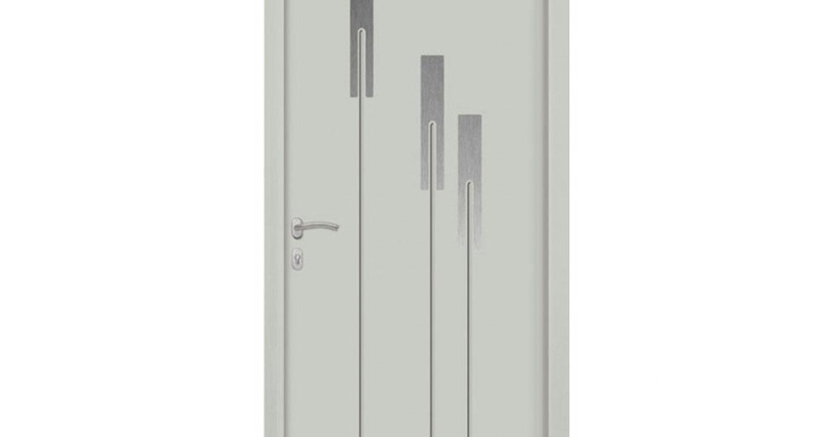 Porte d 39 entr e aluminium cyclope for Porte entree alu