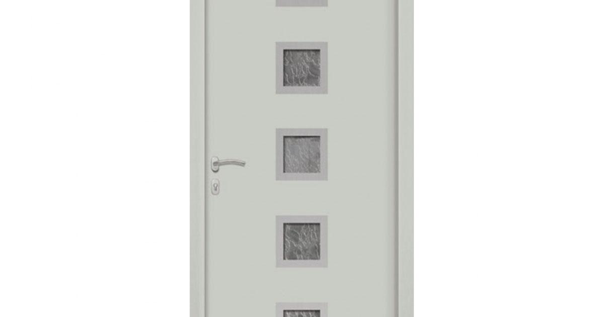 Porte d 39 entr e aluminium lima 5 for Porte entree alu