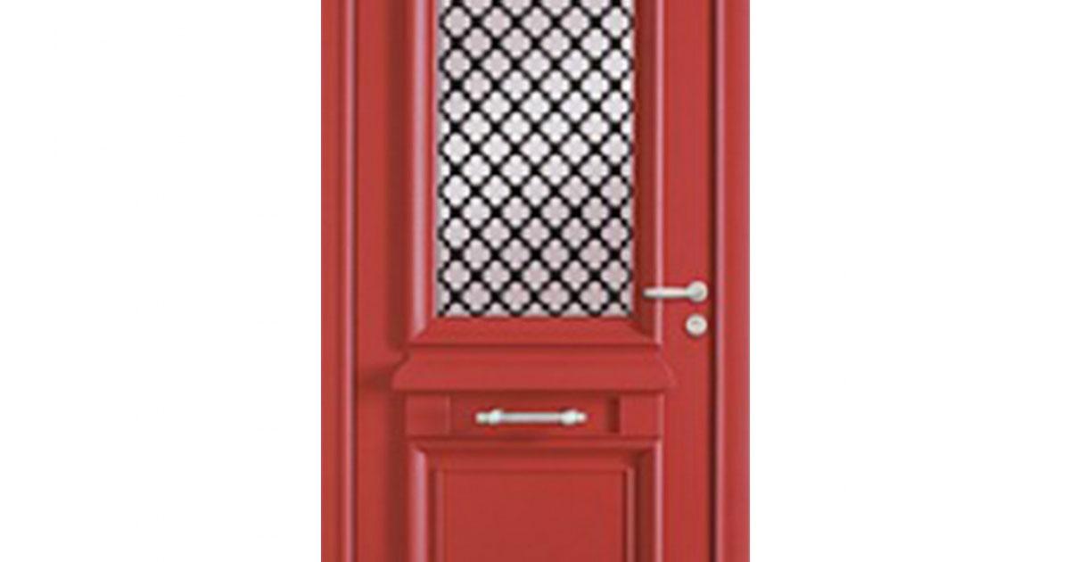 Porte d 39 entr e mixte alu bois ath na - Prix porte d entree athena ...