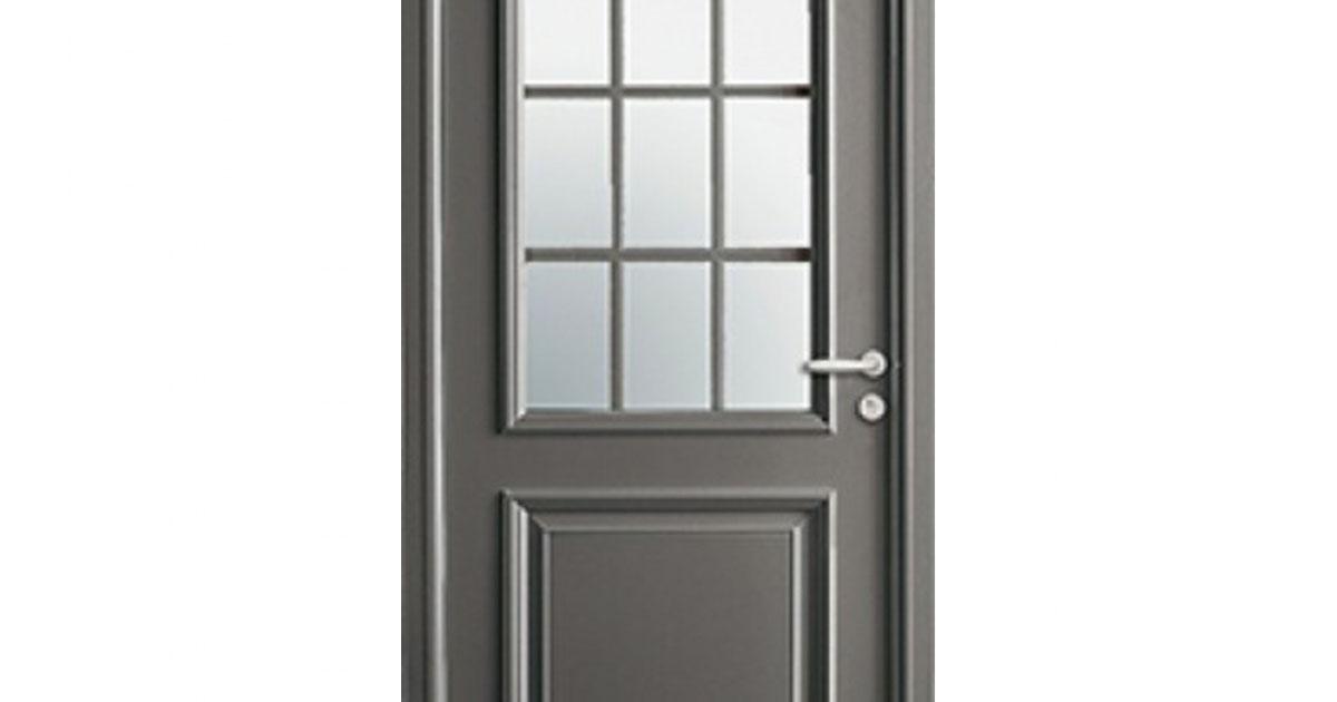 Porte d 39 entr e mixte alu bois jackson - Porte d entree mixte alu bois ...