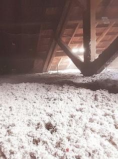 Isolation des combles perdus en ouate de cellulose à la Roche-Sur-Yon