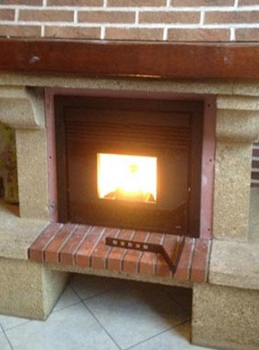 Installation d'un insert à pellets MCZ Boxtherm à Bondues