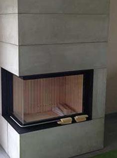 Installation d'une cheminée Brunner sur Rouen