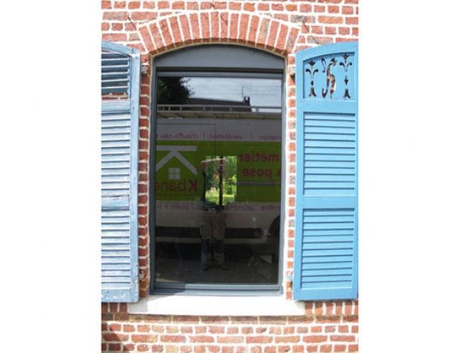 Pose de fenêtres Luminéa, marque Millet