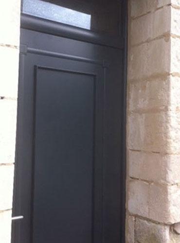 Installation d'une porte d'entrée Bel'm Mozart sur Arras