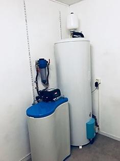 Installation d'un adoucisseur d'eau et d'un chauffe-eau électrique à Prémesques (59)