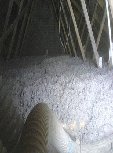 Isolation des combles perdus en ouate de cellulose près de Lille