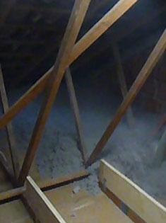 Isolation des combles en ouate de cellulose à Wahagnies